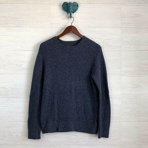 Banana Republic Mens Navy Wool Blend Sweater